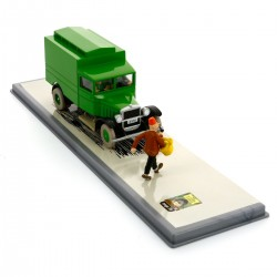 TINTIN VEHICULES DOUBLES N5 LE FOURGON CELLULAIRE 29105
