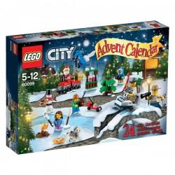 LEGO CALENDRIER DE L AVENT LEGO CITY 60099