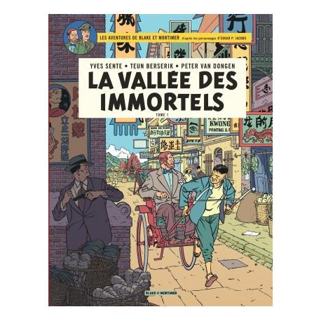 BLAKE ET MORTIMER - BLAKE  MORTIMER - TOME 25 - VALLEE DES IMMORTELS LA - TOME 1 - MENACE SUR HON