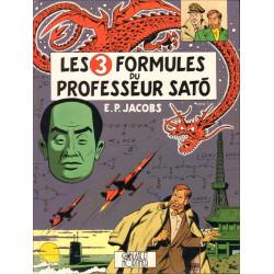 LES 3 FORMULES DU PROFESSEUR SATO T2 - BLAKE ET MORTIMER - T12