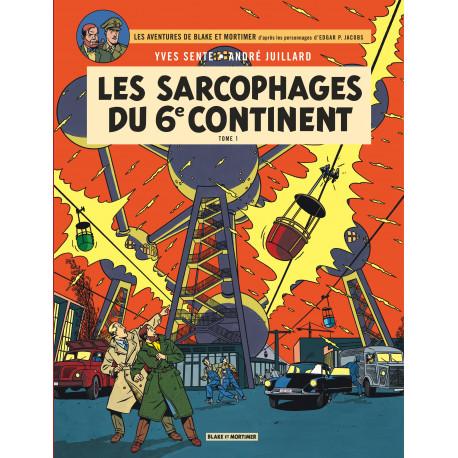 SARCOPHAGES DU 6E CONTINENT T1 - BLAKE ET MORTIMER - T16