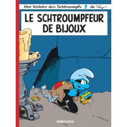 LES SCHTROUMPFS LOMBARD - TOME 17 - LE SCHTROUMPFEUR DE BIJOUX