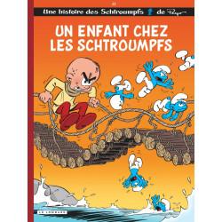 LES SCHTROUMPFS LOMBARD - TOME 25 - UN ENFANT CHEZ LES SCHTROUMPFS