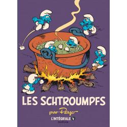 LES SCHTROUMPFS - L INTEGRALE - TOME 4 - LES SCHTROUMPFS INTEGRALE 1975-1988