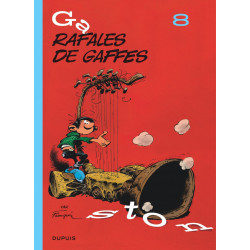 GASTON EDITION 2018 - TOME 8 - RAFALES DE GAFFES EDITION 2018