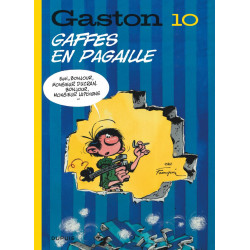 GASTON EDITION 2018 - TOME 10 - GAFFES EN PAGAILLE EDITION 2018