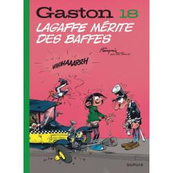 GASTON EDITION 2018 - TOME 18 - LAGAFFE MERITE DES BAFFES EDITION 2018