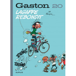 GASTON EDITION 2018 - TOME 20 - LAGAFFE REBONDIT EDITION 2018