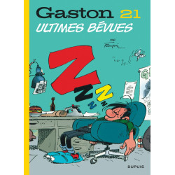 GASTON EDITION 2018 - TOME 21 - ULTIMES BEVUES
