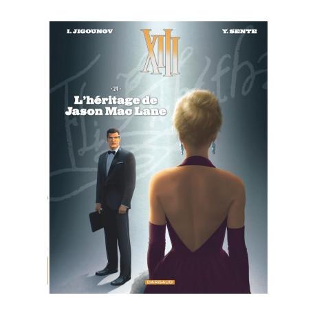 TREIZE XIII - XIII  - TOME 24 - LHERITAGE DE JASON MAC LANE