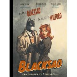 BLACKSAD HORS-SERIE - BLACKSAD - HORS-SERIE - TOME 0 - BLACKSAD LES DESSOUS DE LENQUETE
