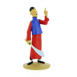 DIDI EST FOU FIGURINE 15CM COLLECTION TINTIN