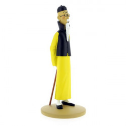 WANG JEN-GHI SE PRSENTE FIGURINE ENVIRON 15CM COLLECTION TINTIN