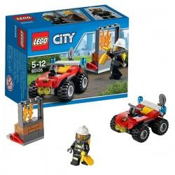 LE 4X4 DES POMPIERS LEGO CITY 60105