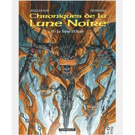 LES CHRONIQUES LA LUNE NOIRE - LES CHRONIQUES DE LA LUNE NOIRE  - TOME 18 - TRONE DOPALE LE