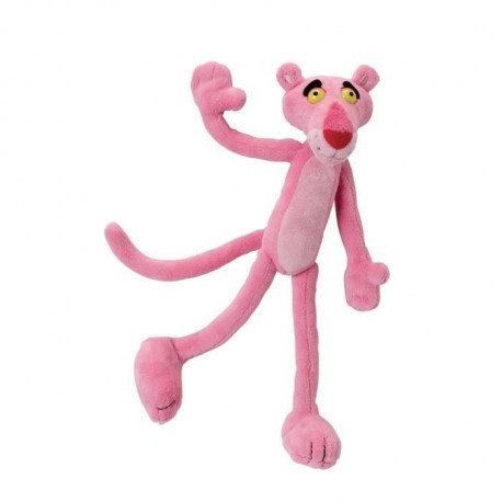 PANTHERE ROSE PELUCHE 22CM
