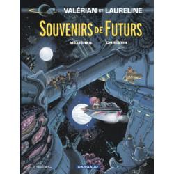 VALERIAN - TOME 22 - SOUVENIRS DE FUTURS