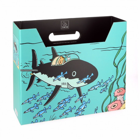 FILE BOX TINTIN SOUS MARIN REQUIN