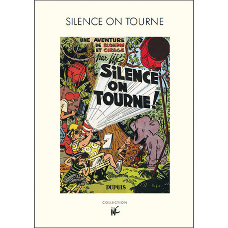 BLONDIN ET CIRAGE SILENCE ON TOURNE TIRAGE DE TETE