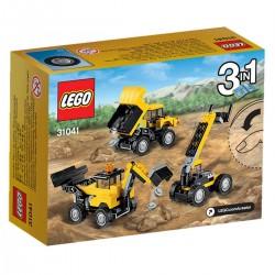 LE TRACTOPELLE 3 EN 1 LEGO CREATOR 31041