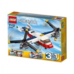 L AVION A HELICES LEGO CREATOR 31047