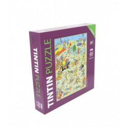 PUZZLE TINTIN - BATAILLE DE ZILEHEROUM