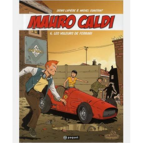 MAURO CALDI T6 - LES VOLEURS DE FERRARI
