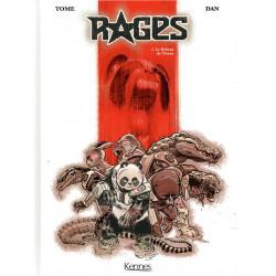 RAGES T01 - LE RIDEAU DE TITANE