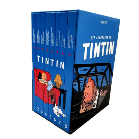 COFFRET INTEGRAL TINTIN