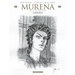 MURENA - TOME 11 - LEMURIA  EDITION SPECIALE CRAYONNEE