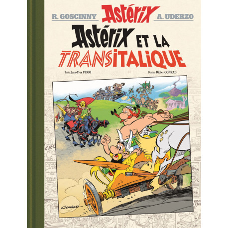 ASTERIX EDITION DE LUXE TOME 37 - ASTERIX ET LA TRANSITALIQUE