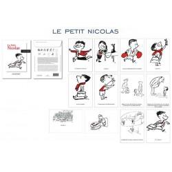 SET DE 12 CARTES POSTALES PETIT NICOLAS