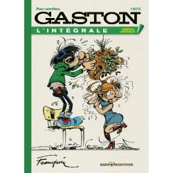 GASTON EDITION ORIGINALE - TOME 12 - 1972 -FS-