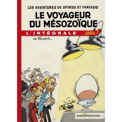SPIROU EDITION ORIGINALE - INTEGRALE LE VOYAGEUR MESOZOIQUE - TOME 4