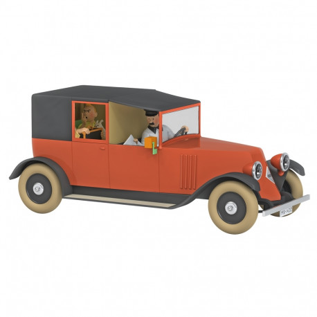 TINTIN VOITURE 124e - LE TAXI ROUGE
