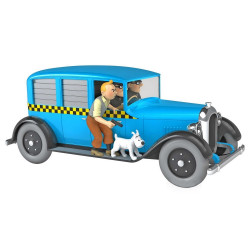 TINTIN VOITURE 124e - TAXI CHICAGO