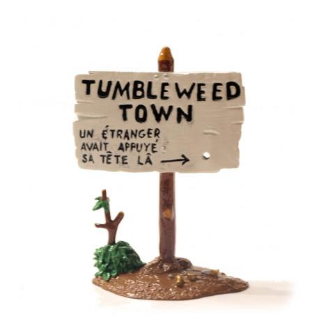 PANNEAU LUCKY LUKE  TUMBLEWEED TOWN REF 6502