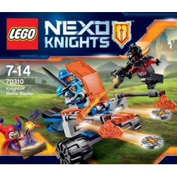 LE CHAR DE COMBAT DE KNOGHTON LEGO NEXO KNIGHTS 70310