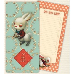 TO DO LIST LE LAPIN D ALICE AU PAYS DES MERVEILLES ILLUSTREE PAR BENJAMIN LACOMBE