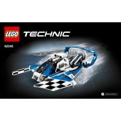 HYDRAVION DE COURSE LEGO TECHNICS 42045