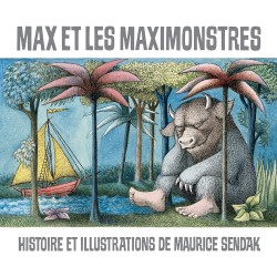 MAX ET LES MAXIMONSTRES ALBUM A COUVERTURE RIGIDE