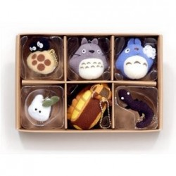 COLLECTION MUSEE GHIBLI ASSORTIMENT SPECIAL TOTORO 6 PENDANTS