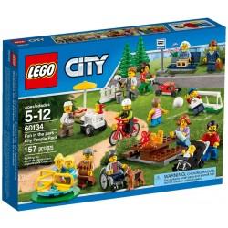 PARC DE LOISIRS LEGO 60134 ENSEMBLE DE FIGURINES ET PERSONNAGES LEGO CITY
