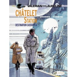 VALERIAN AND LAURELINE T9 CHATELET STATION DESTINATION CASSIOPEIA
