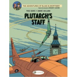 BLAKE AND MORTIMER T21 PLUTARCH STAFF