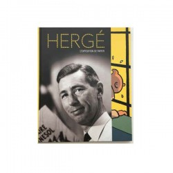 COFFRET HERGE LUXE CATALOGUE EXPOSITION GRAND PALAIS 1500