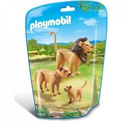 FAMILLE DE LIONS PLAYMOBIL WILD LIFE