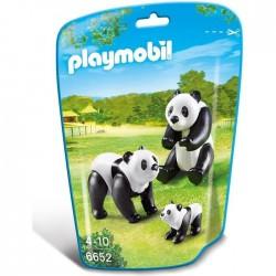 FAMILLE DE PANDAS PLAYMOBIL WILD LIFE