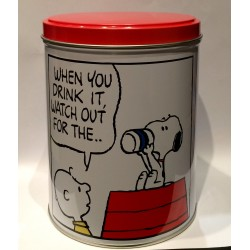 BOITE SNOOPY WHEN YOU DRINK IT WATCH OUT FOR THE...
