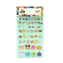 PLAQUE DE STICKERS DISNEY TSUM TSUM EN RELIEF